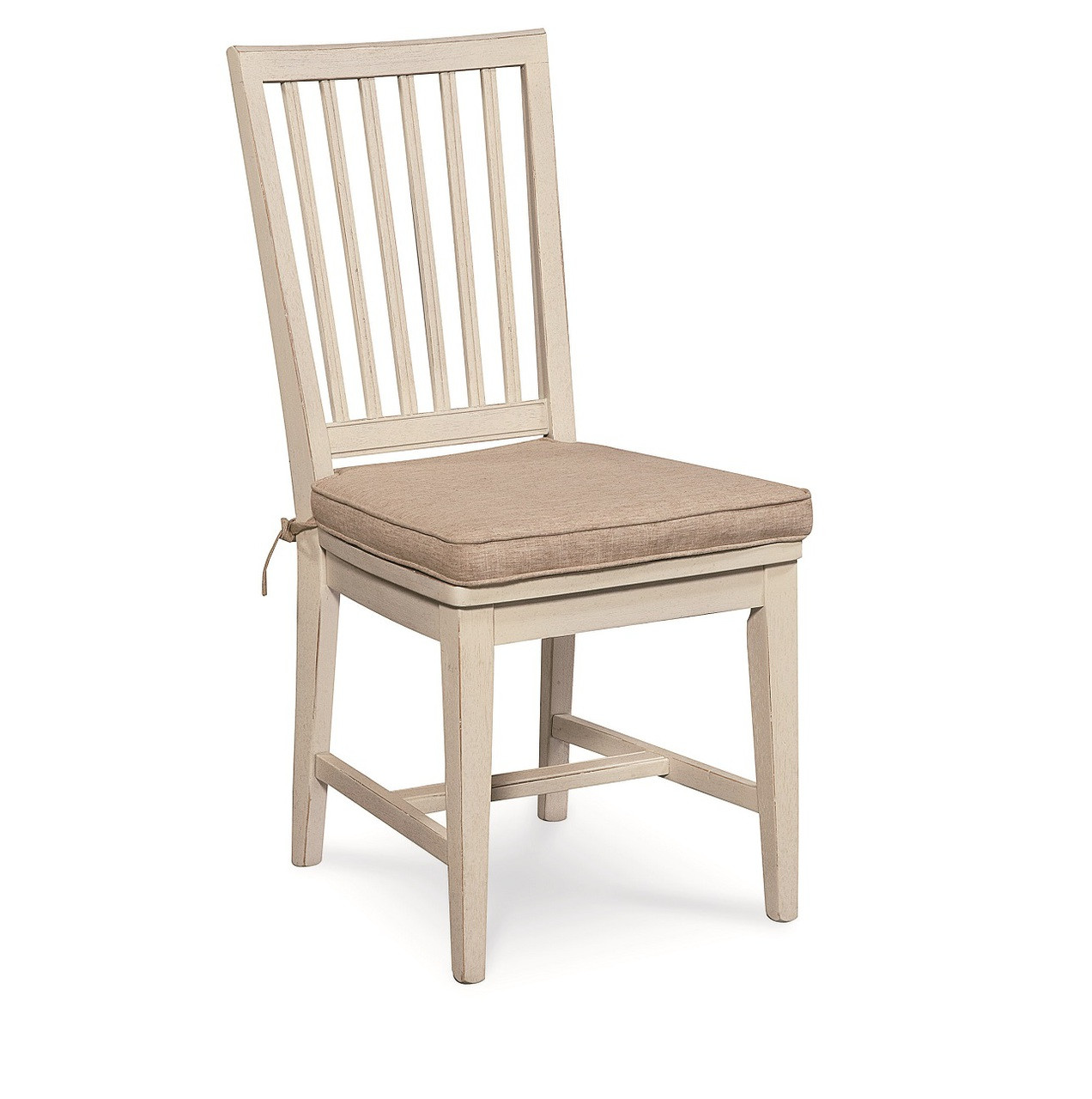 Coastal Beach White Dining Side Chair with Cushion Zin Home : 128732SILO57658144988367912801280 from www.zinhome.com size 1272 x 1280 jpeg 174kB