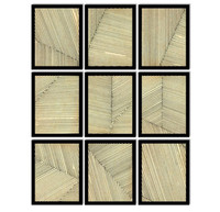 Line Series Exquisite Wall Art Set of 9