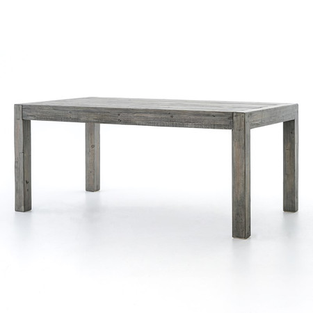 Parsons Reclaimed Wood Dining Room Table 71 Grey Zin Home