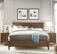 Maison Molded Headboard Queen Size Panel Bedroom set