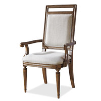 Maison Upholstered Dining Arm Chair