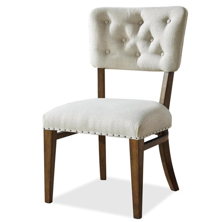 Maison Tufted Back Upholstered Dining Side Chair Zin Home