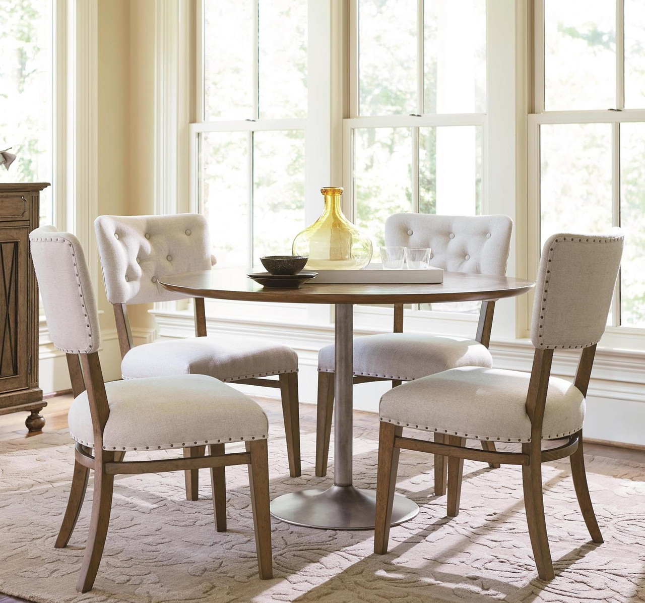 Maison Tufted Back Upholstered Dining Side Chair | Zin Home