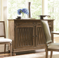 Maison 2 Door Credenza Sideboard with Wine Storage