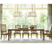 Maison French Fluted Leg 9 Piece Dining Room Set