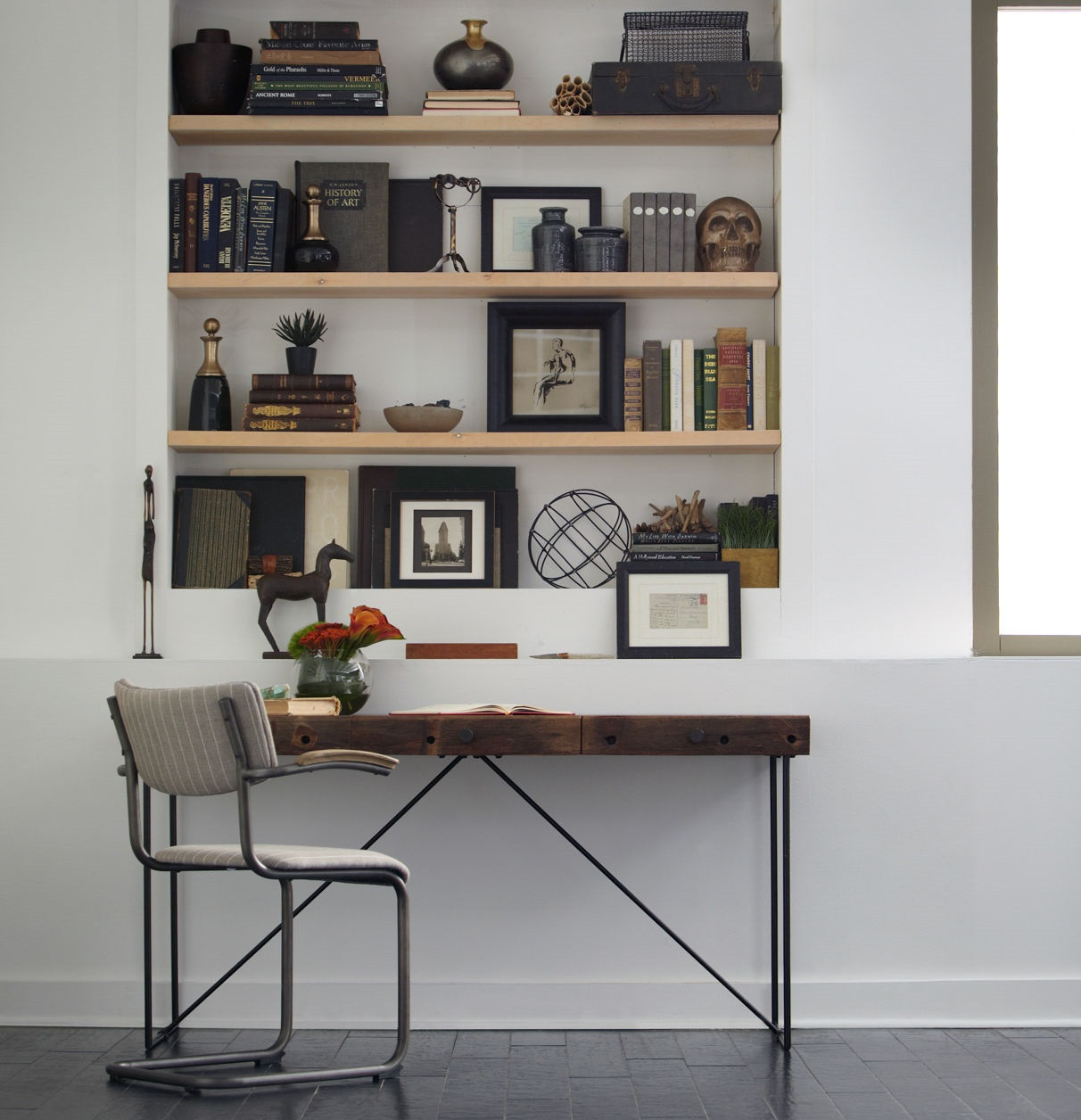 home office desks | computer desks | modern reclaimed wood desks