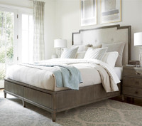 Playlist King Size Upholstered Platform Storage Bed