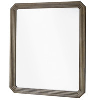 Playlist Vintage Oak Bedroom Mirror