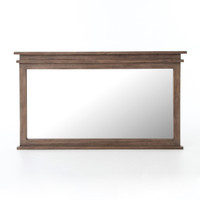 Sierra Reclaimed Wood Frame Bedroom Mirror