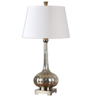 Oristano Polished Nickel Table Lamp
