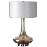 Fabricius Mottled Mercury Glass Table Lamp