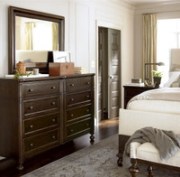Proximity Solid Wood 9 Drawer Dresser with mirror sale