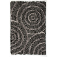 Dreamweavers Rain Drop Rugs in Dark Gray