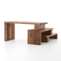 Ferris Reclaimed Wood Modular Workstation Desk