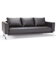 Cassius Q Deluxe Sleeper Sofa Bed-Chrome Legs