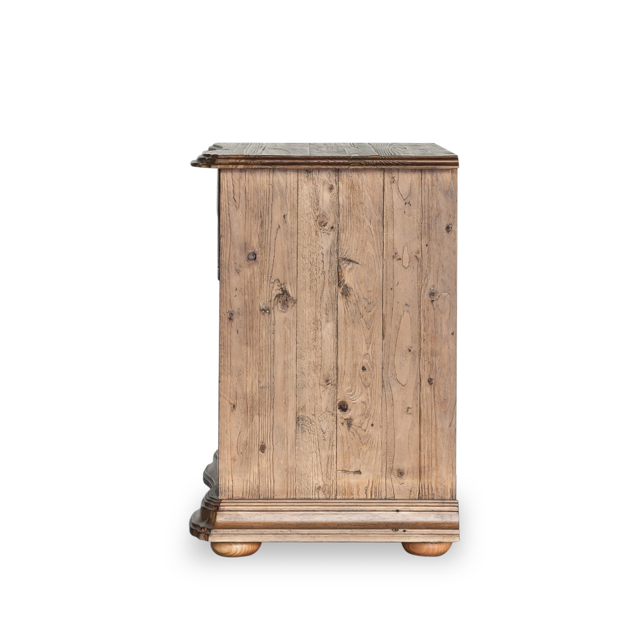 French Country Solid Wood  Drawer Nightstand Zin Home - French country nightstand