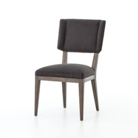 Jax Oak Wood Upholstered Dining Chair