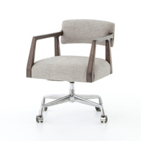 Tyler Mid-Century Modern Upholstered Office Desk Chair