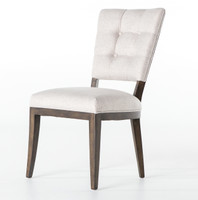 Sabrina Modern Retro Tufted Dining Chair