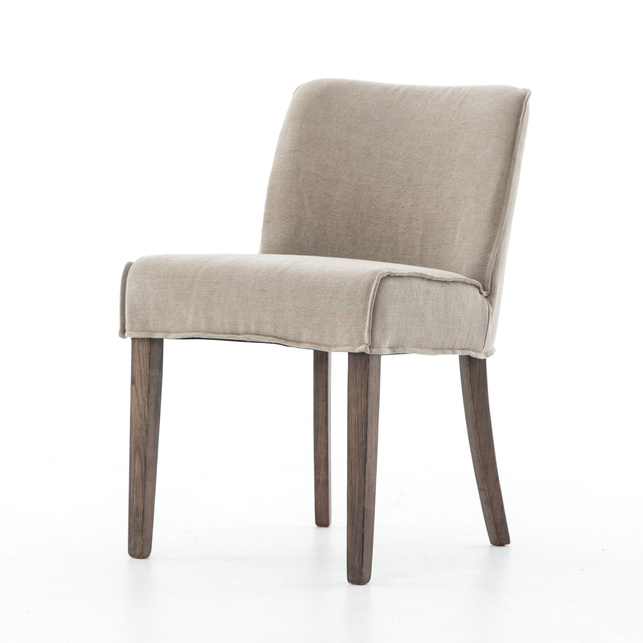 Modern Contemporary Urban Design Kitchen Dining Side Chair: Urban-Rustic Upholstered Dining Side Chair