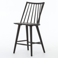 Windsor Counter Stool - Black Oak