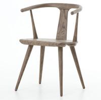 Windsor Dining Arm Chair - Grey Oak