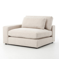 Bloor Beige Left Arm Facing Sectional