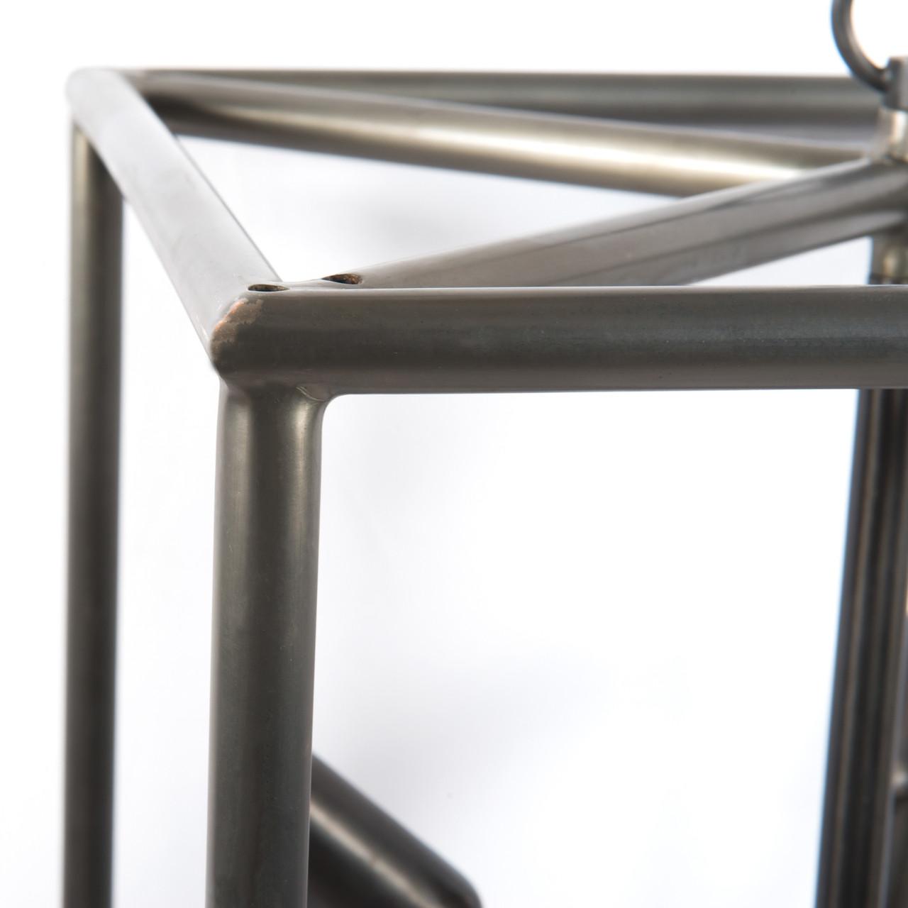 Sputnik Industrial Caged Tall Chandelier 25 Quot Zin Home