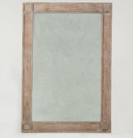 Parisian Vintage Grey Oak Mirror