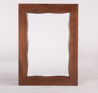 Live Edge Solid Wood Mirror