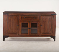 London Live Edge Solid Wood Sideboard 62""