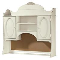 Rosalie Kids Desk Hutch - White