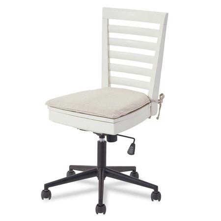 Myroom Modern Swivel Kids Desk Chair White Zin Home