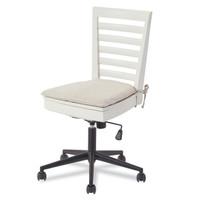 #MyRoom Modern Swivel Kids Desk Chair - White