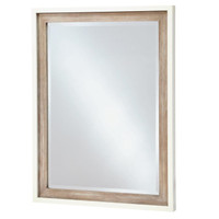 #MyRoom Modern Kids Mirror - Gray & White