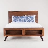 Brooklyn Loft Solid Wood King Platform Bed