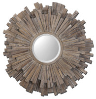 Uttermost Vermundo Wood Mirror