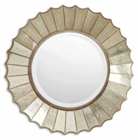 Uttermost Amberlyn Sunburst Gold Mirror