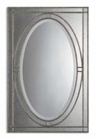 Uttermost Earnestine Antique Silver Mirror