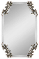 Uttermost Andretta Baroque Silver Mirror