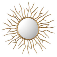 Uttermost Astor Gold Starburst Mirror