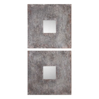 Uttermost Altha Burnished Square Mirrors S/2