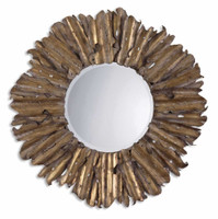 Uttermost Hemani Antique Gold Mirror