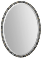 Uttermost Paredes Oval Mosaic Mirror