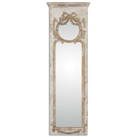 Uttermost Casella Antiqued Ivory Wall Mirror