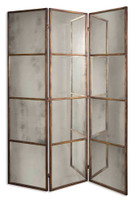Uttermost Avidan 3 Panel Screen Mirror