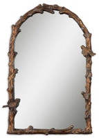Uttermost Paza Antique Gold Arch Mirror