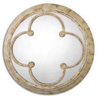 Uttermost Livianus Round Metal Mirror