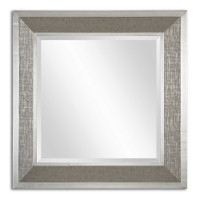 Uttermost Naevius Metallic Square