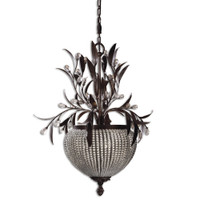 Uttermost Cristal De Lisbon 3 Light Chandelier
